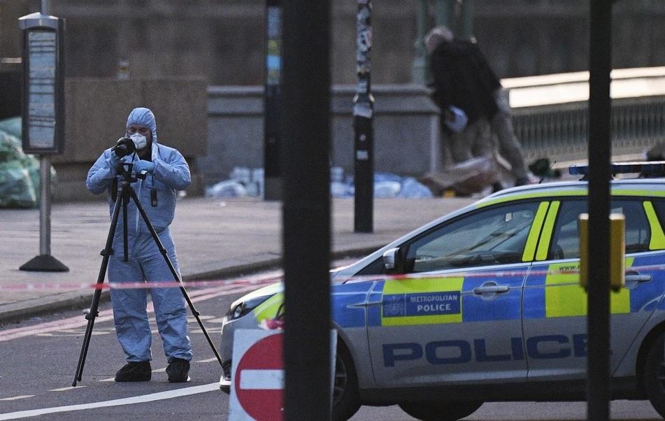 Policía en el tiroteo de Londres