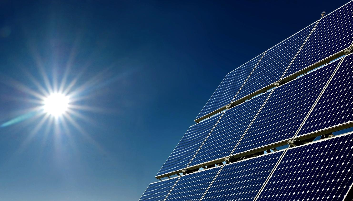 Paneles  de placa de energía solar