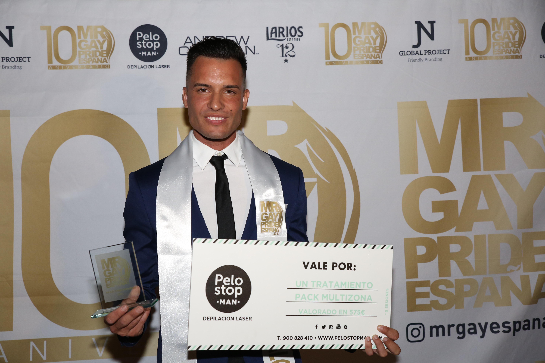 Caín Henríquez, Ganador del Mr Gay Pride Maspalomas 2017
