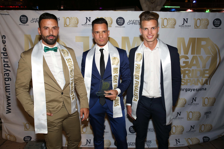 Finalistas del Mr. Gay Pride Maspalomas 2017
