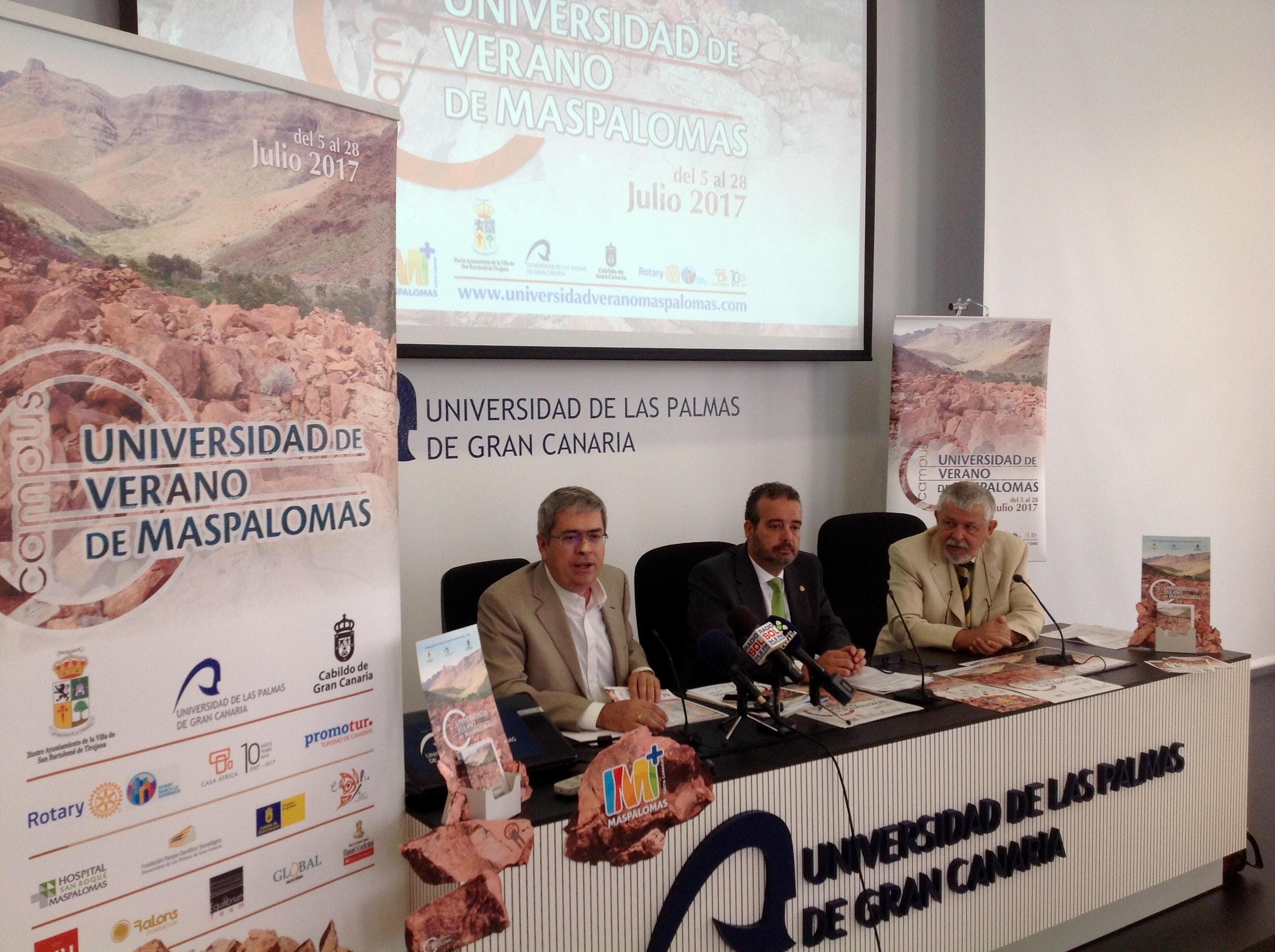 Presentación Universidad de Verano de Maspalomas