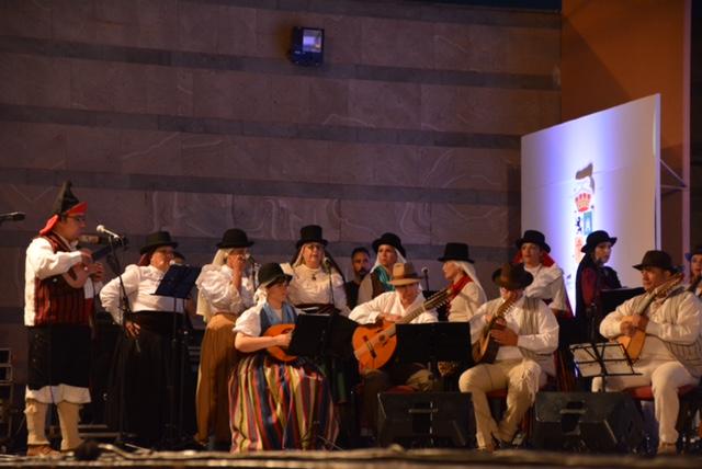 homenaje al folklorista Ico Arrocha en San Bartolomé de Tirajana