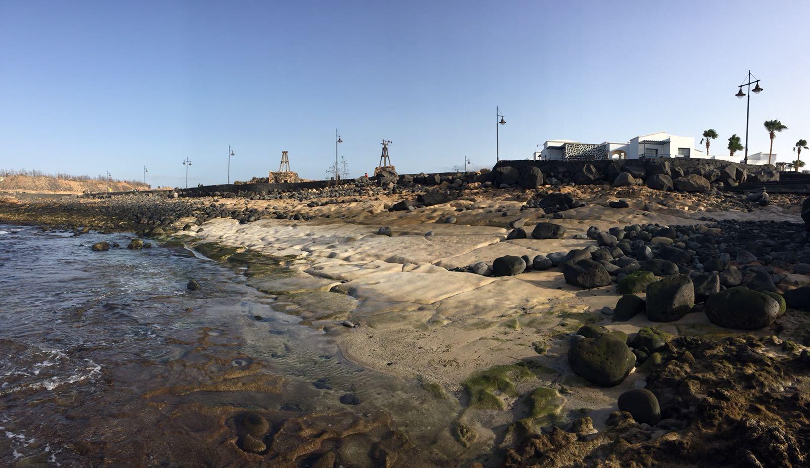 Playa de El Berrugo en Yaiza, Lanzarote