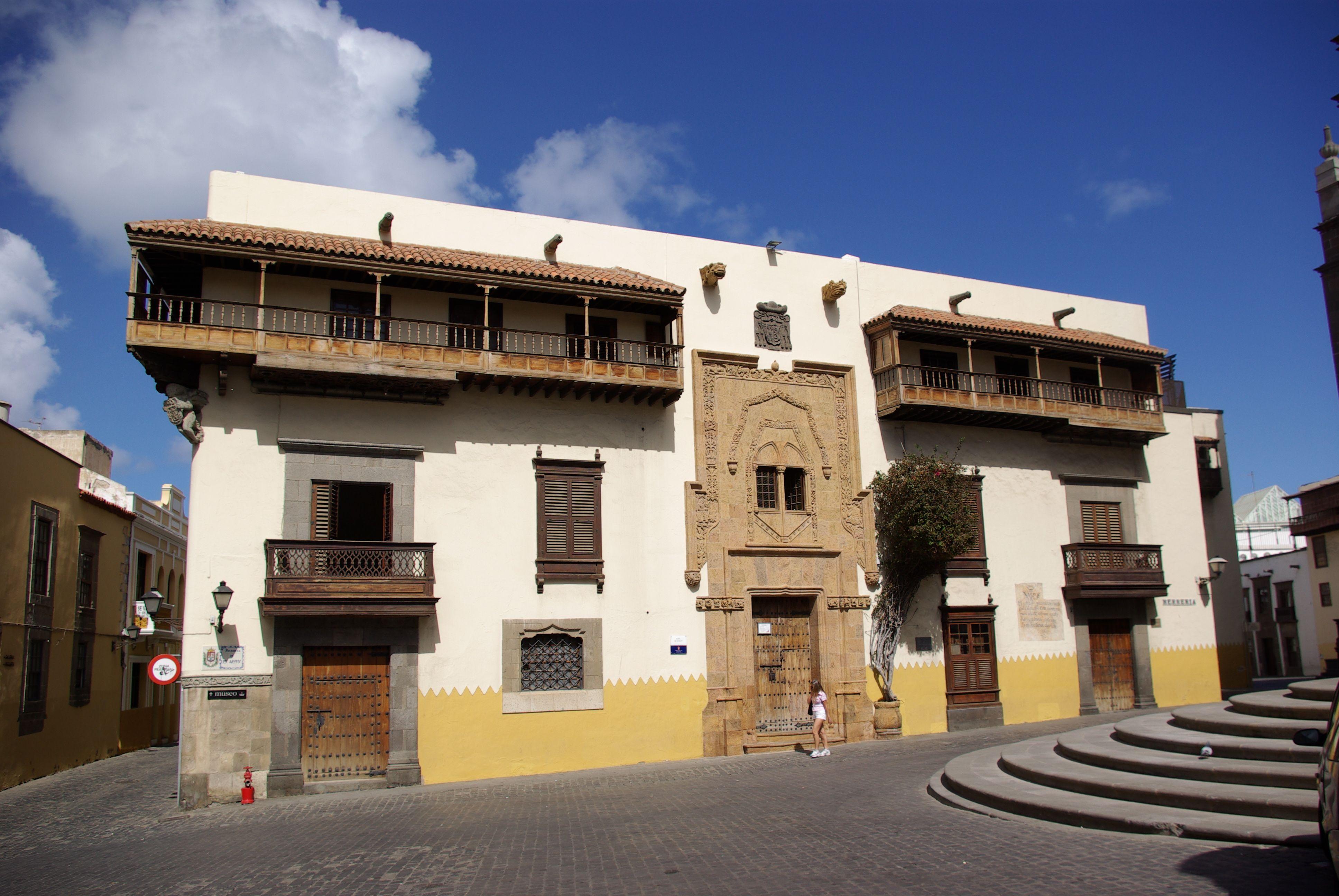Casa de Colón en Las Palmas de Gran Canaria