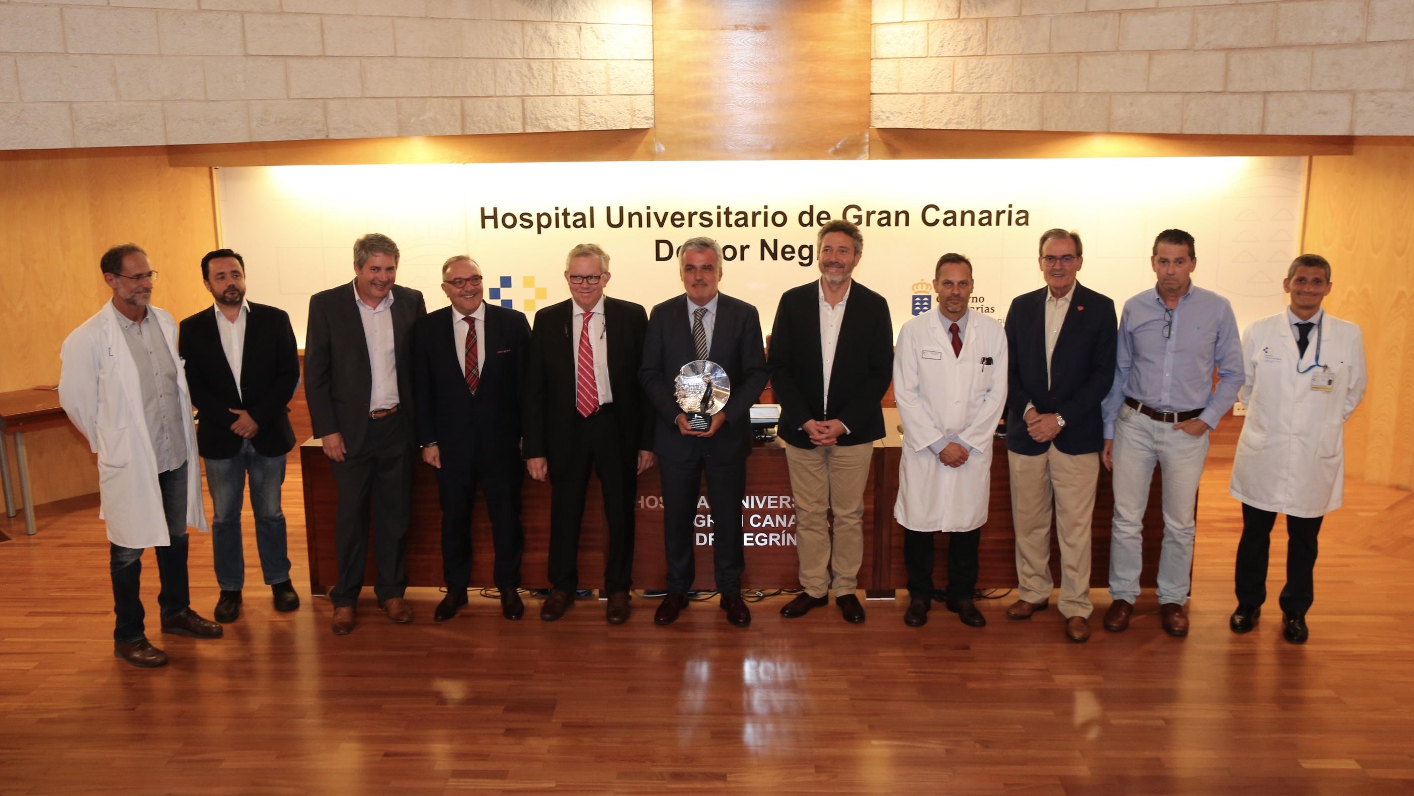 reconocimiento al Hospital Universitario 12 de Octubre de Madrid