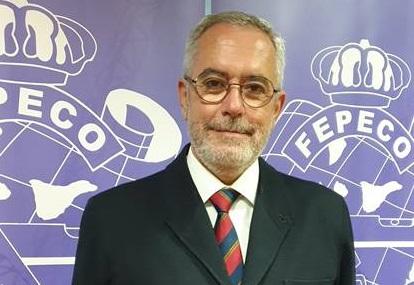 Óscar Izquierdo, presidente de FEPECO