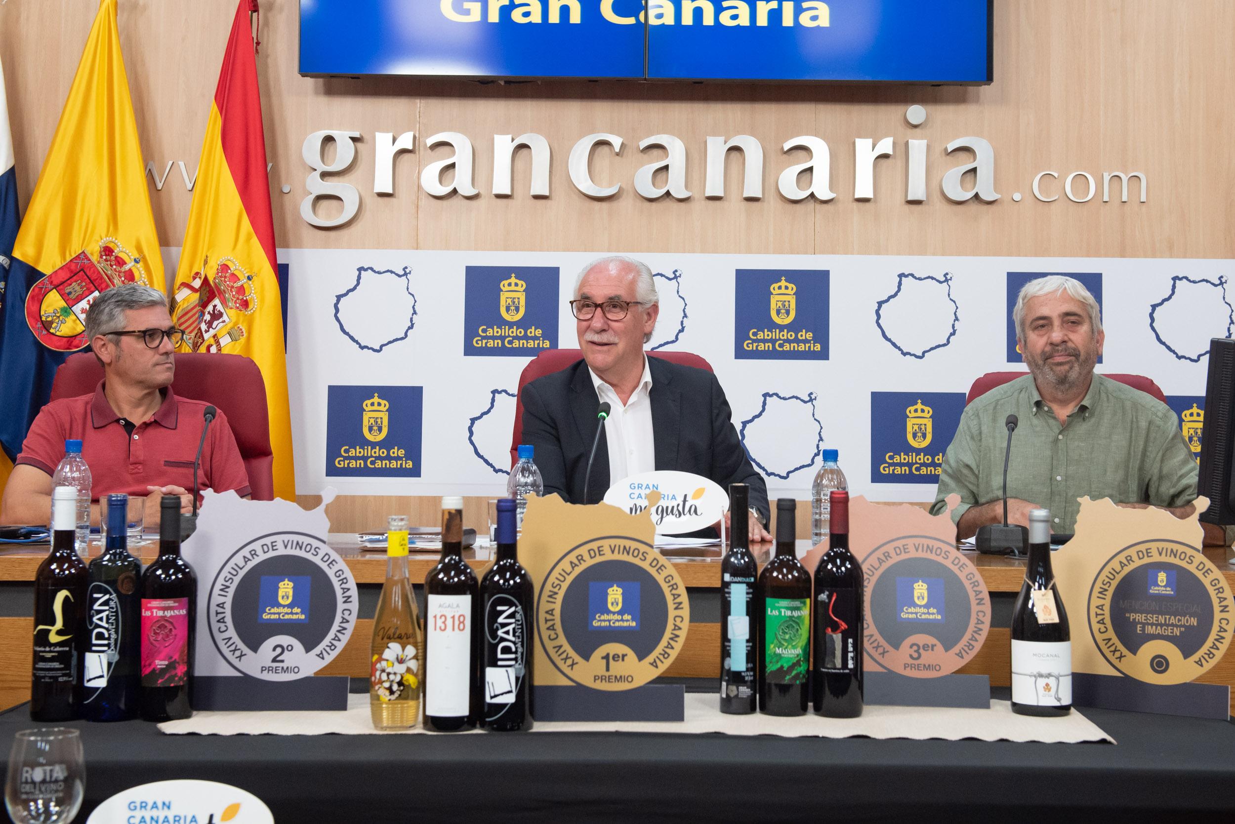 Resultado de imagen de Eidan, Agala y Valara, elegidos los Mejores Vinos de Gran Canaria 2019