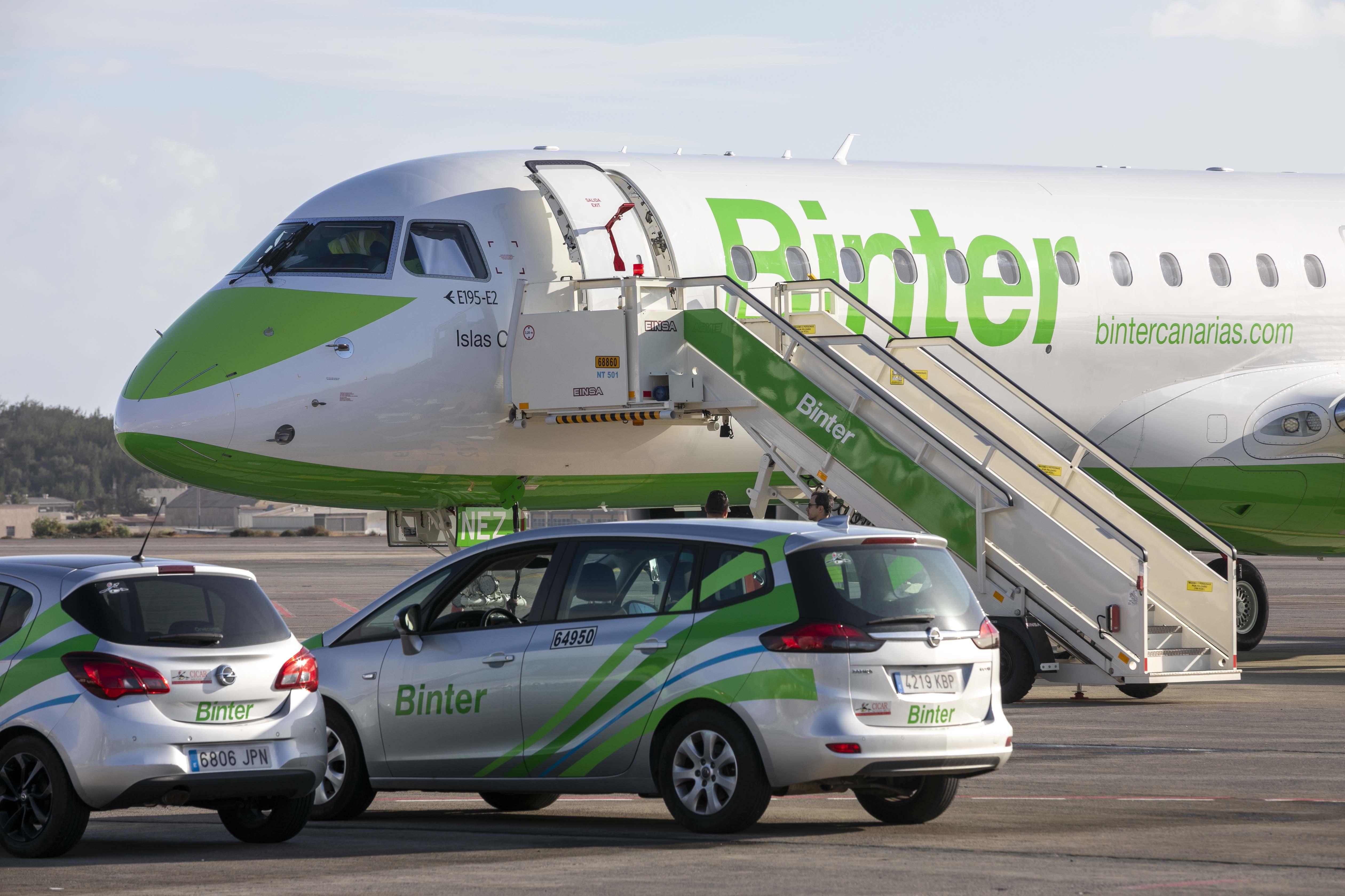 Binter comenzará a volar a Vitoria a partir de abril