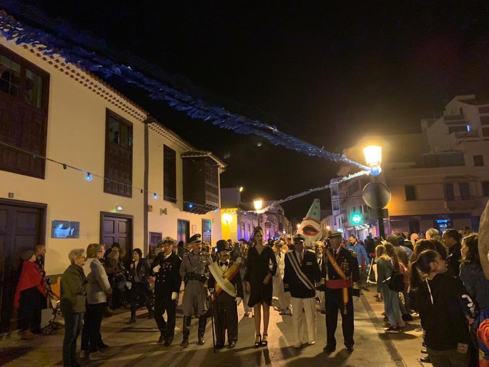 Entierro de la Sardina San Sebastián de La Gomera