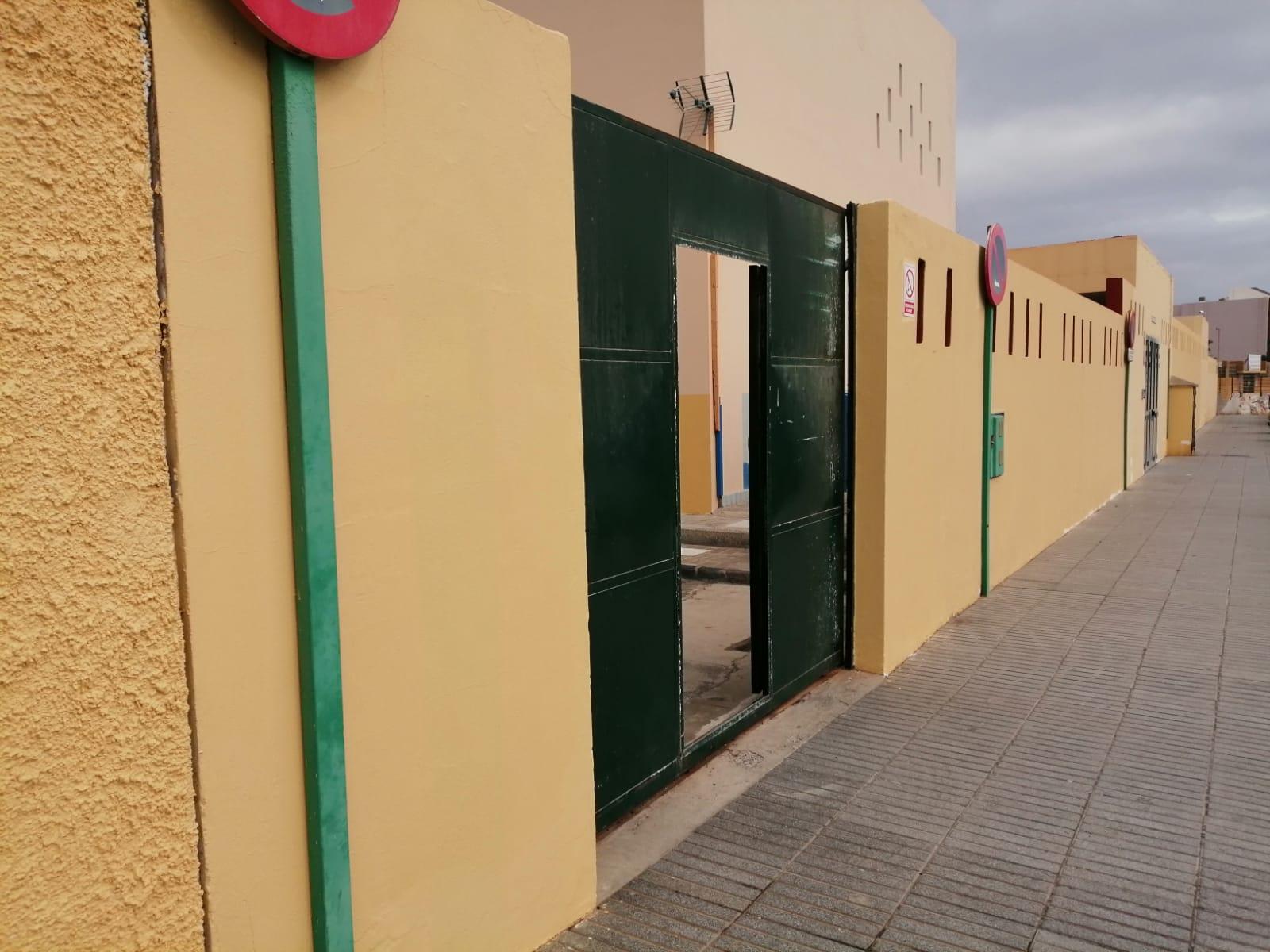 Obras de centros educativos de Telde