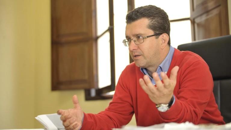 Juan Jesús Facundo, alcalde de Arucas