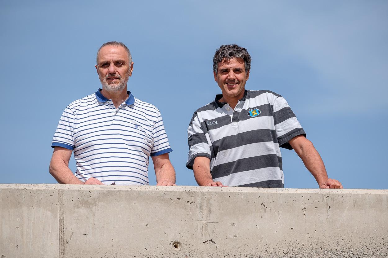 Ricardo Haroun y Francisco Otero Ferrer