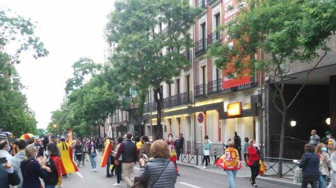 Protestas contra Pedro Sánchez