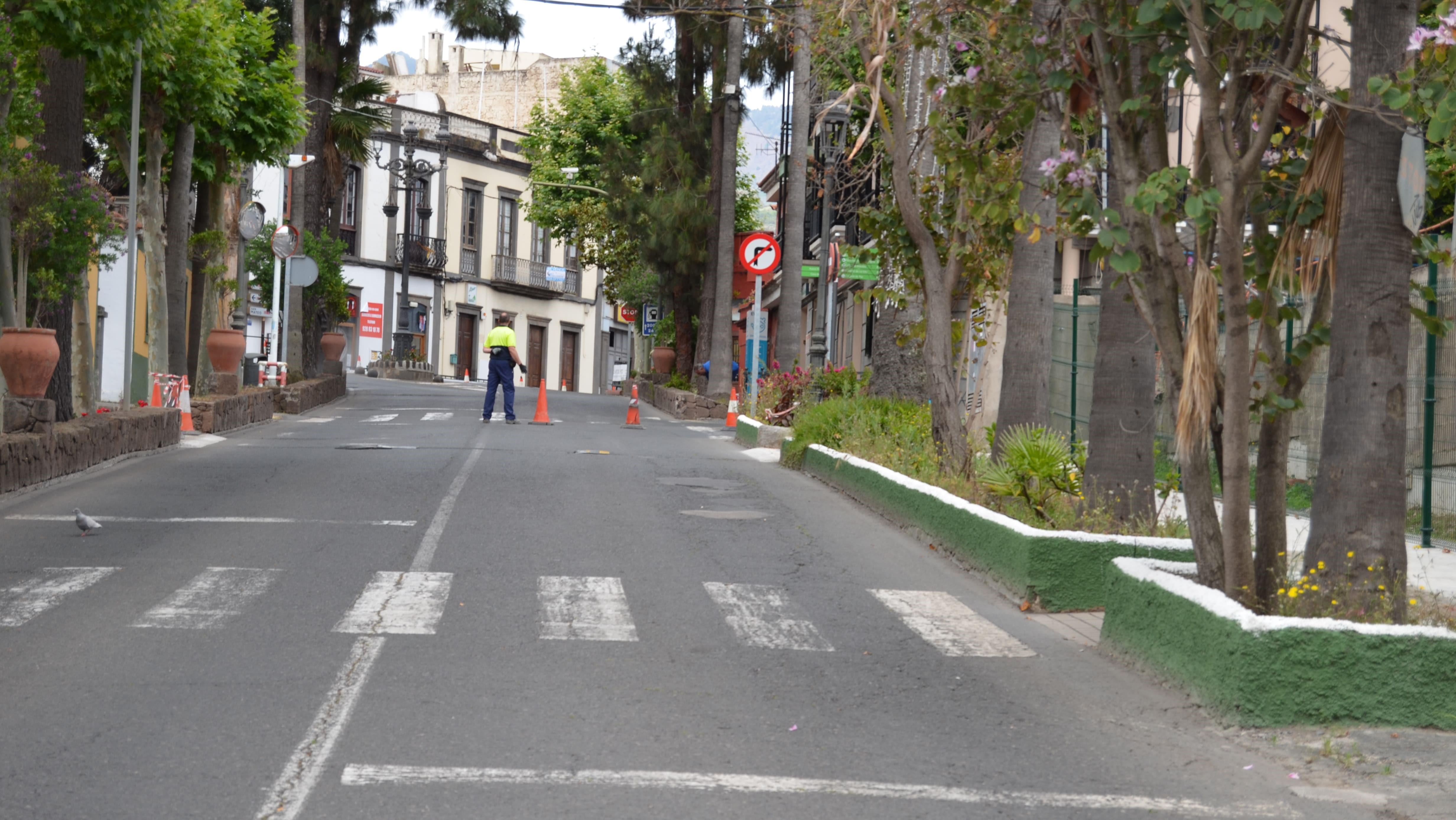 Paseo del Guiniguada Santa Brígida