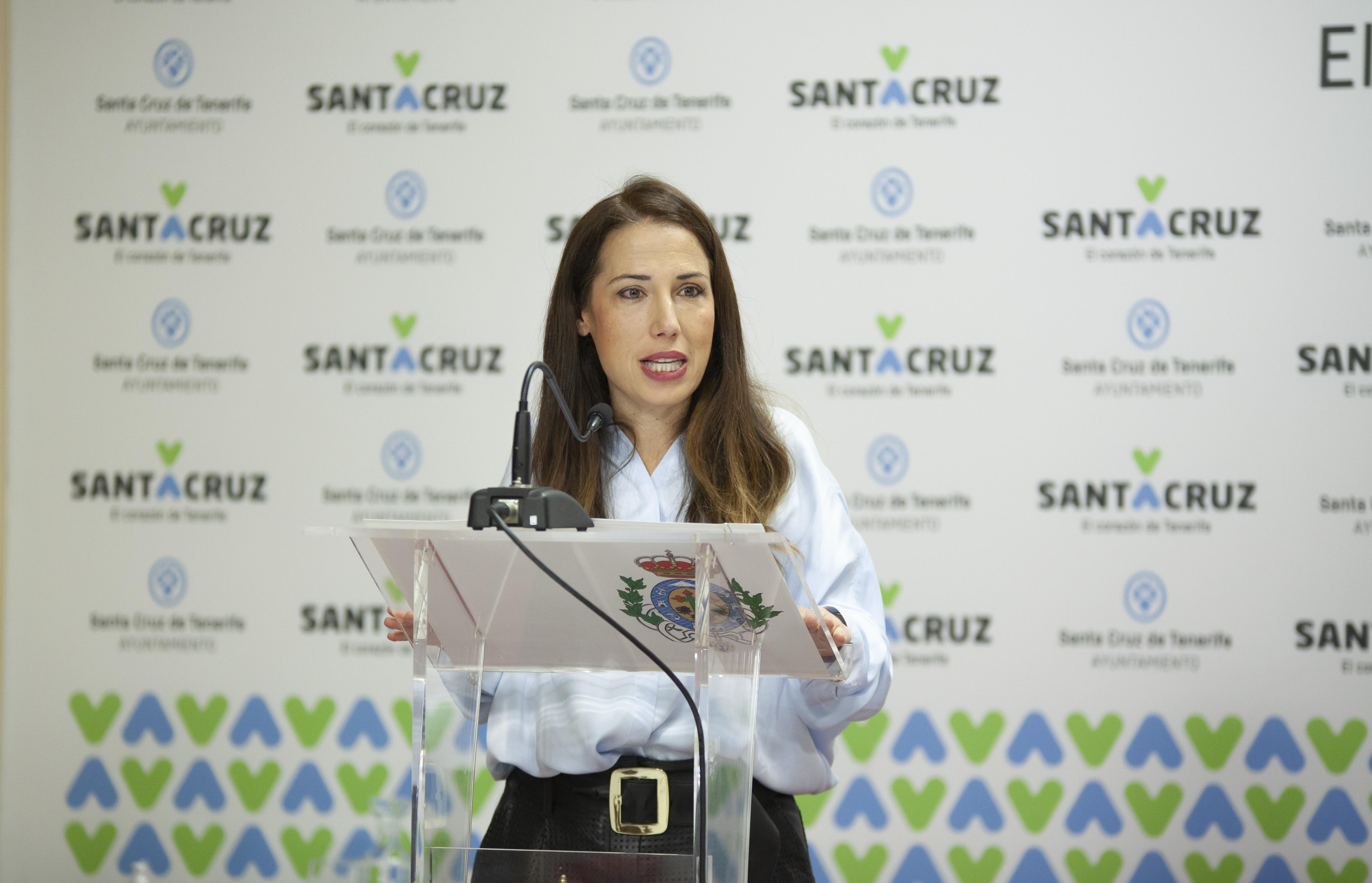 Patricia Hernández alcaldesa de Santa Cruz de Tenerife