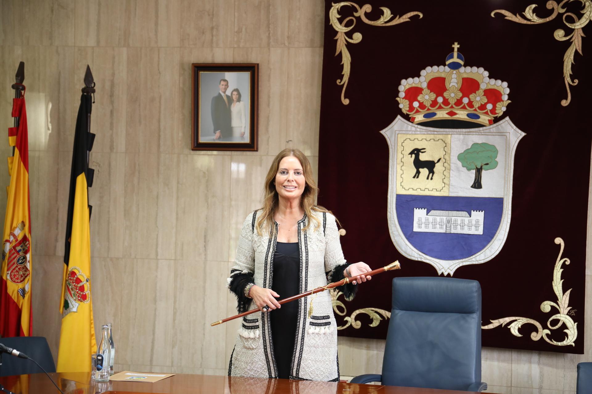 Pilar González, alcaldesa de La Oliva