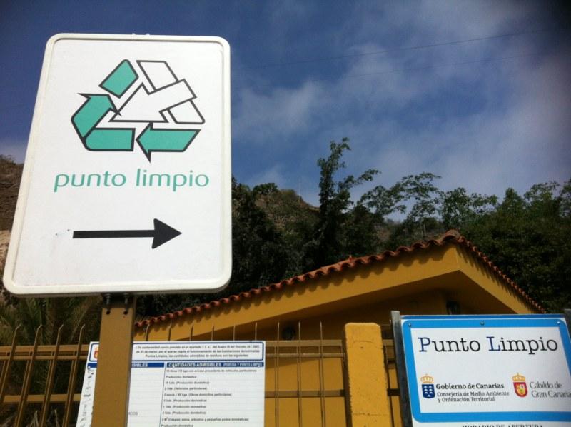 punto limpio en Las Palmas de Gran Canaria