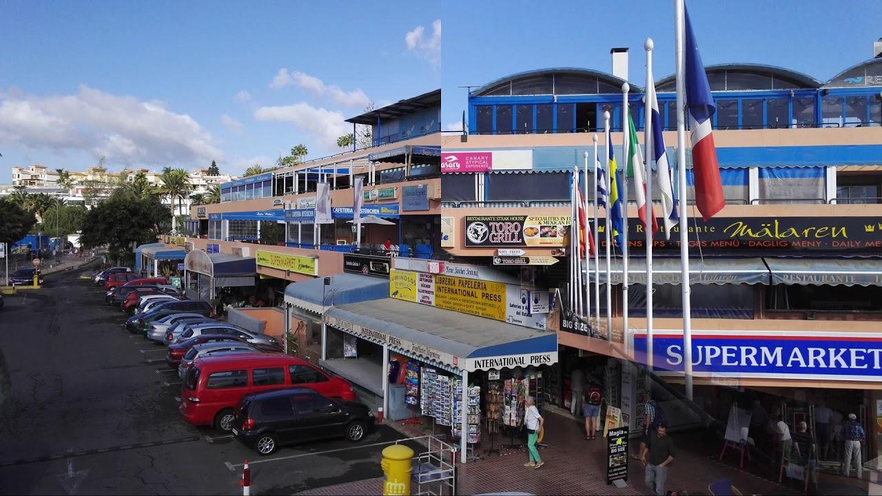 Centro Comercial San Agustín. Gran Canaria