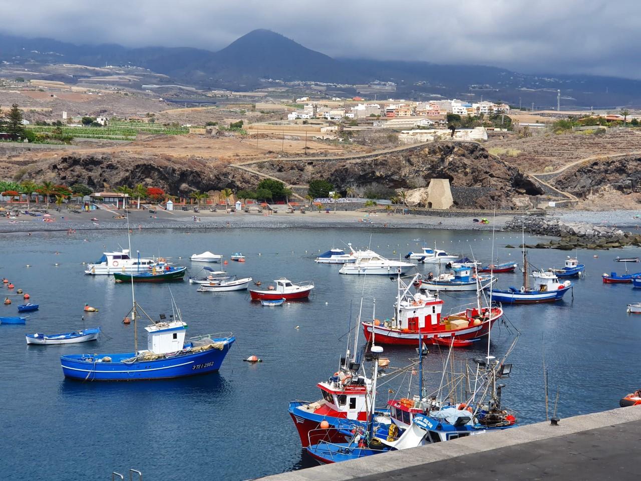 Barcos de Pesca. Canarias