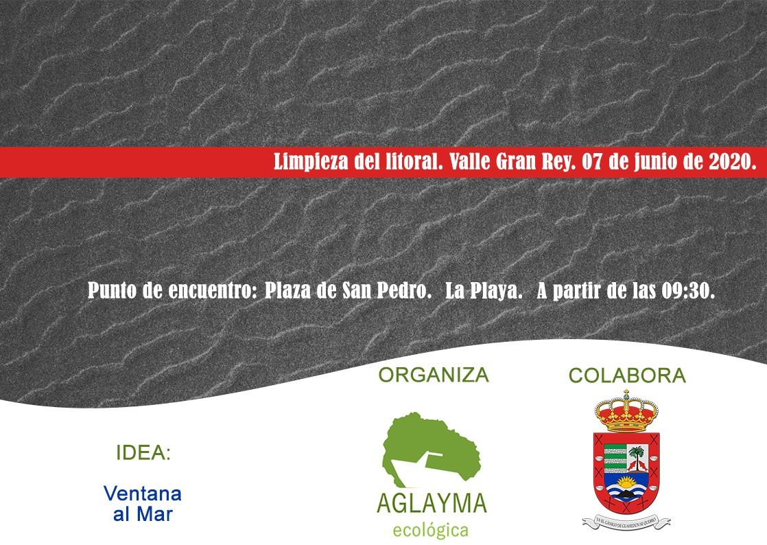 El próximo domingo se llevará a cabo una campaña de limpieza del litoral de Valle Gran Rey