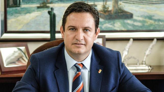 José Julián Mena. Alcalde de Arona. Tenerife