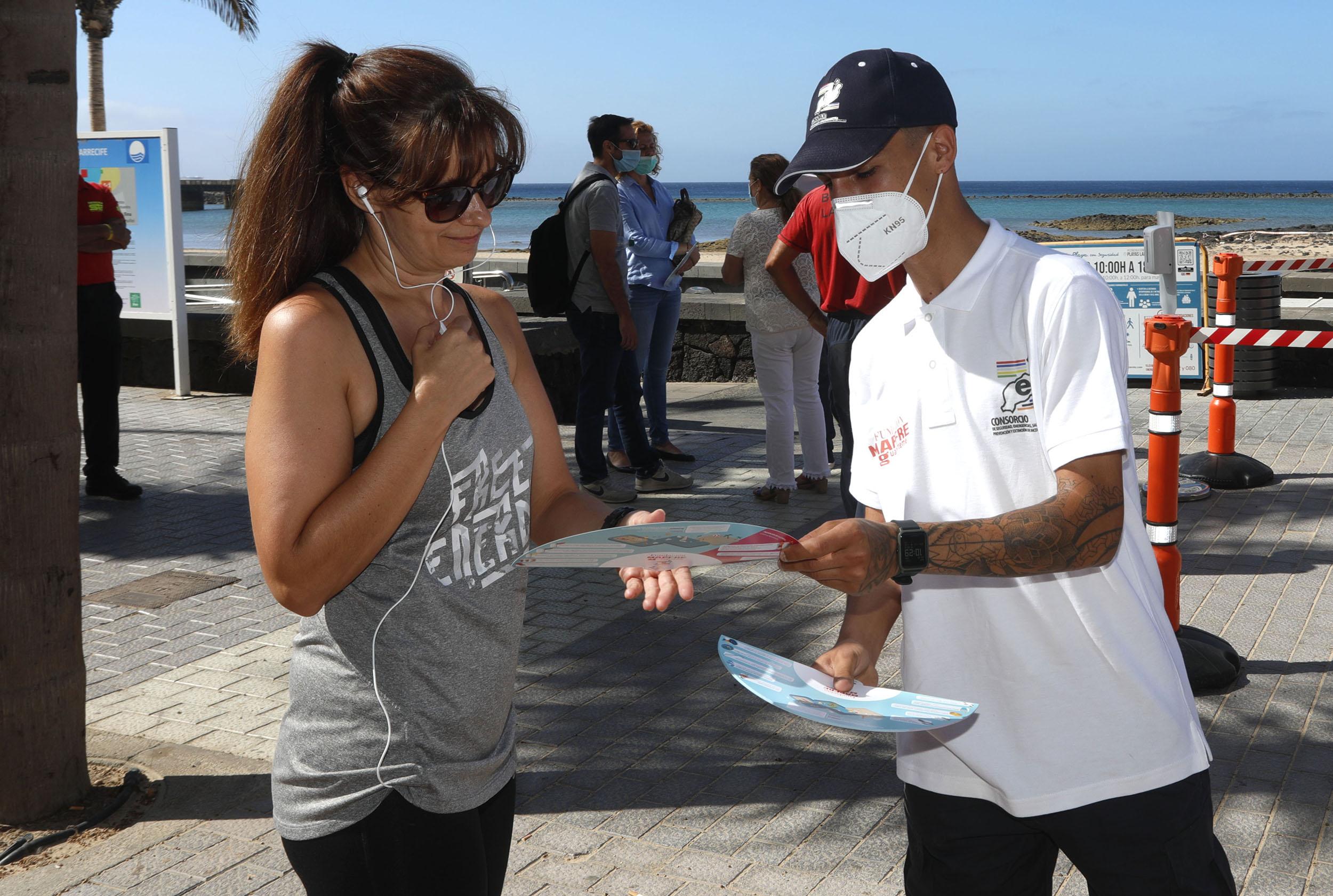 Campaña para prevenir los ahogamientos en las playas de Lanzarote y La Graciosa