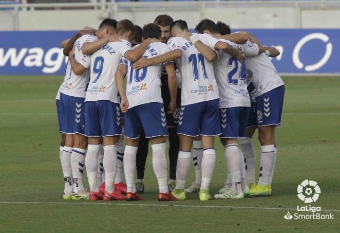 Jugadores del CD Tenerife