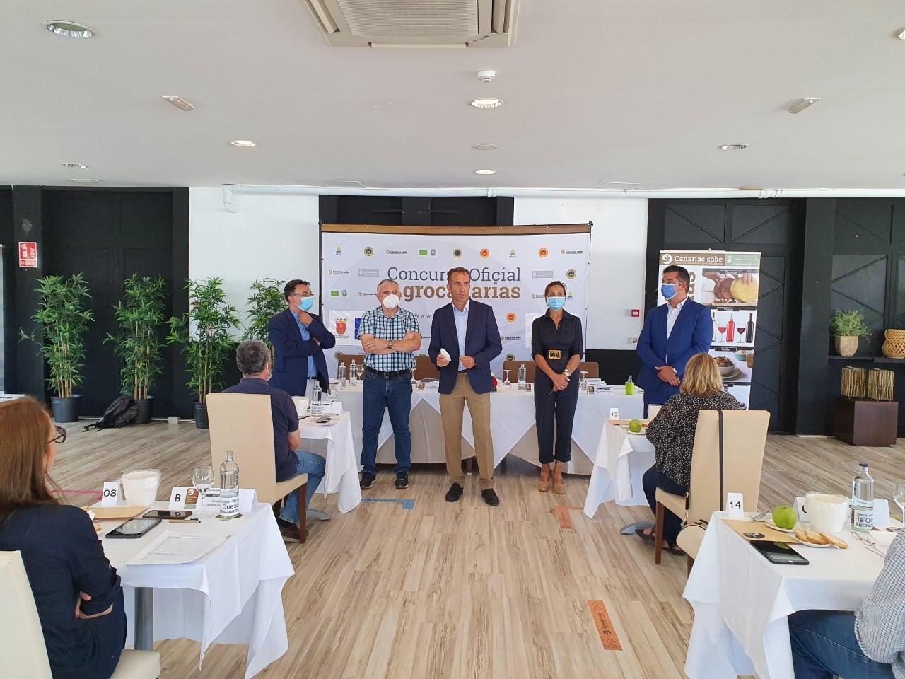 Concurso Oficial de Quesos Agrocanarias 2020