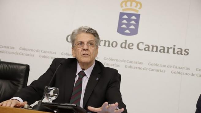 Julio Pérez. Gobierno de Canarias