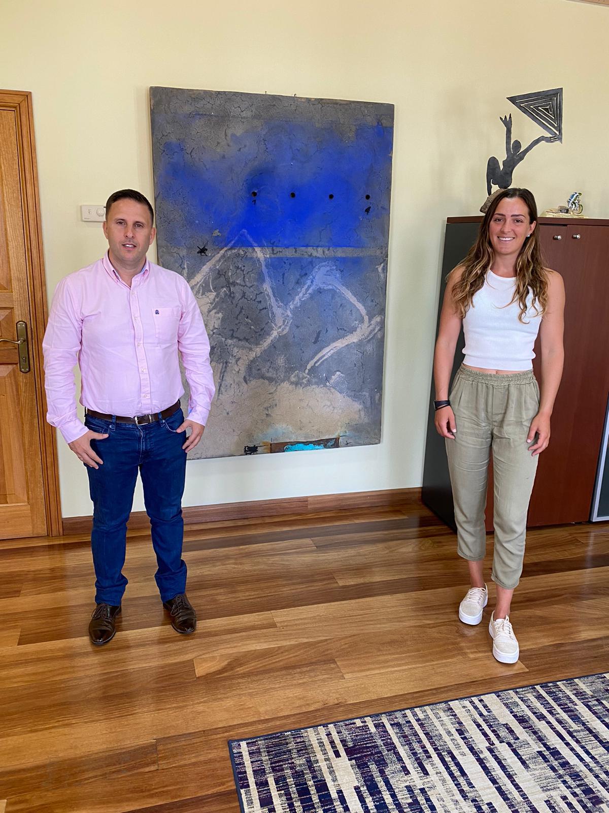 Julia Castro y Alejandro Jorge