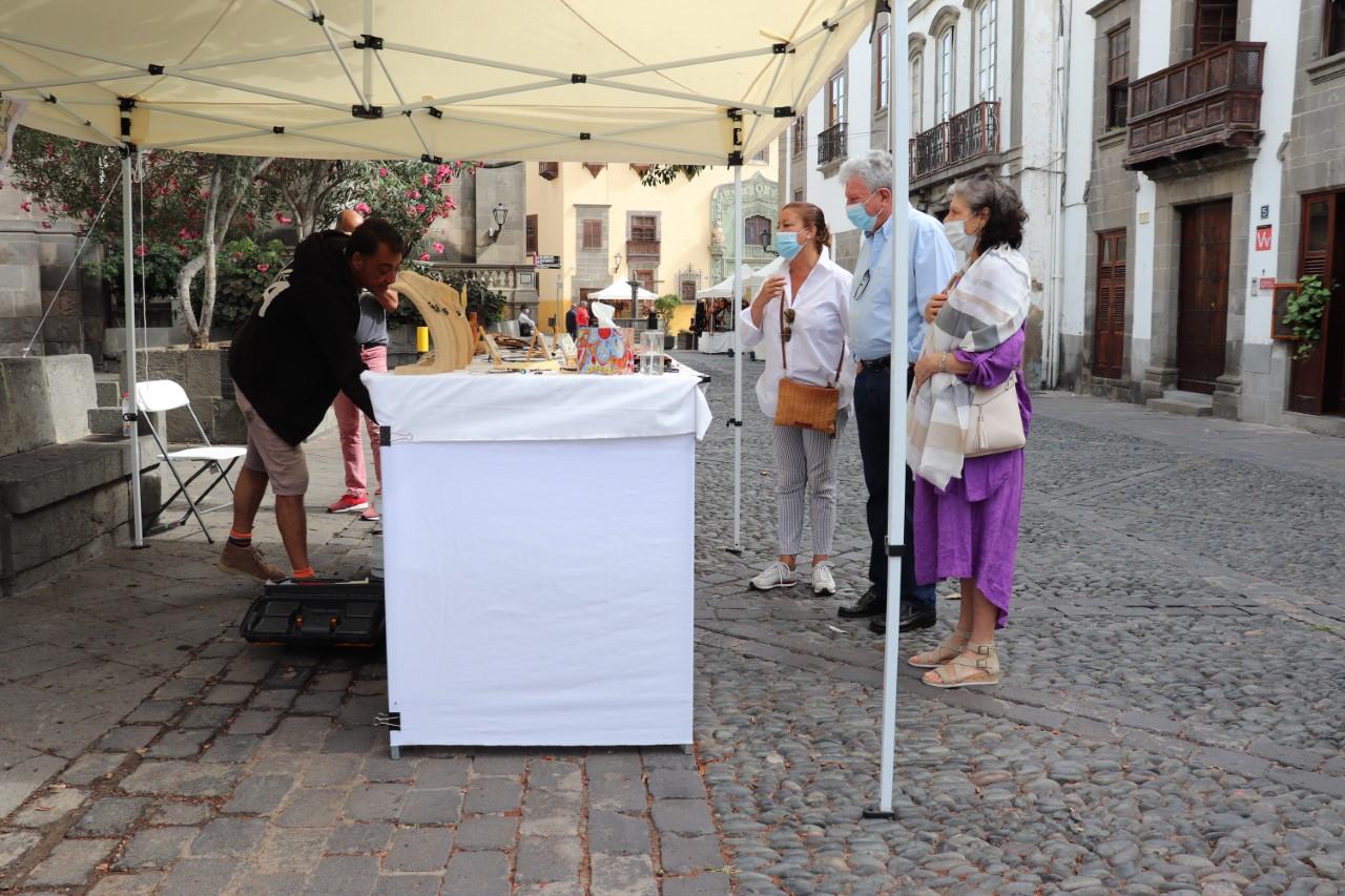 Mercadillo de Vegueta. Las Palmas de Gran Canaria