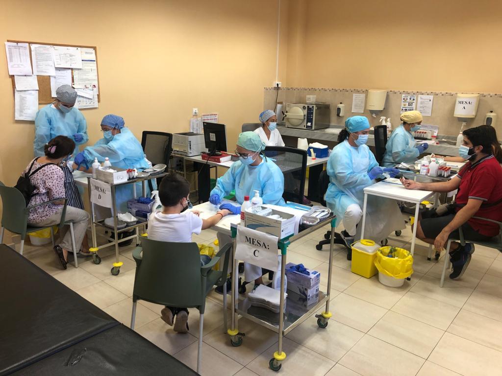 Encuesta sero-epidemiológica del virus SARS-CoV-2