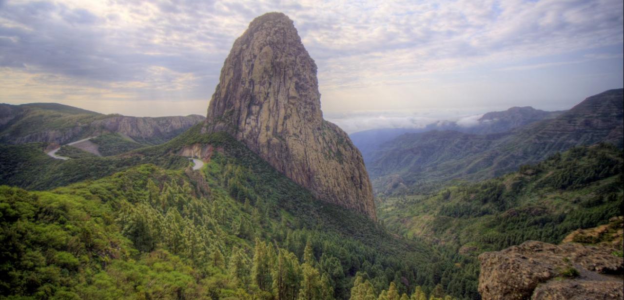Roque de Agando. La Gomera