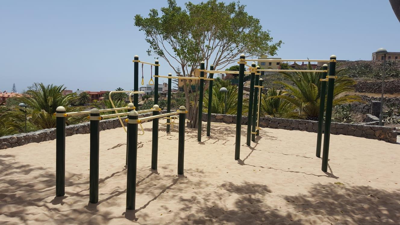 Nuevo parque de Calistenia en el casco de San Miguel de Abona