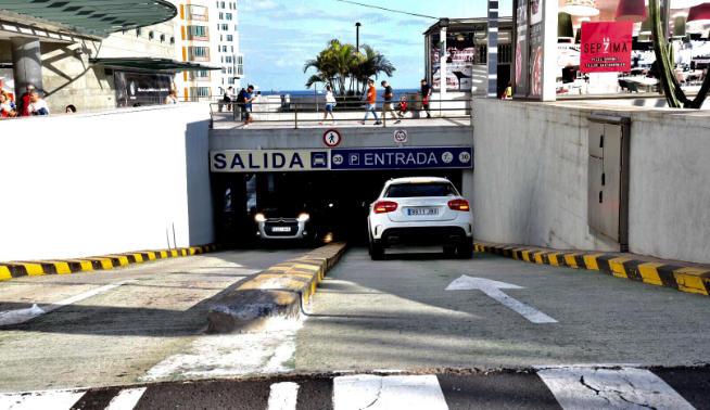 Parking Tres de Mayo. Santa Cruz de Tenerife