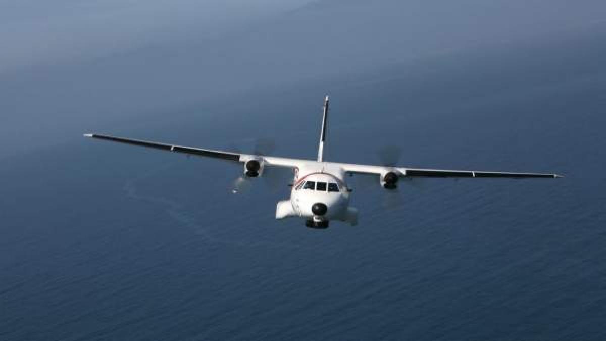 Avión de Salvamento Marítimo. Canarias