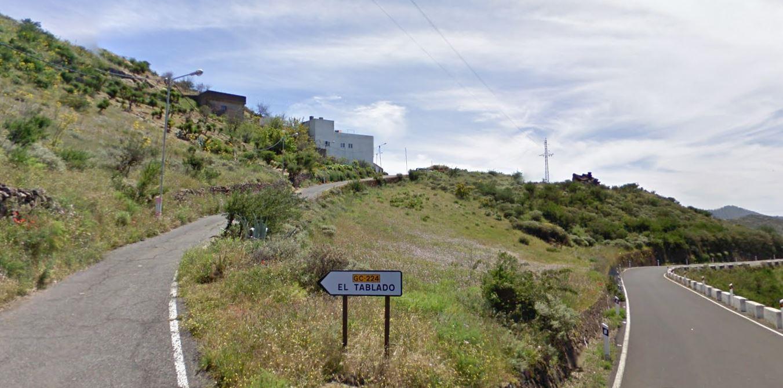 El Tablado, en Juncalillo, Gáldar. Gran Canaria