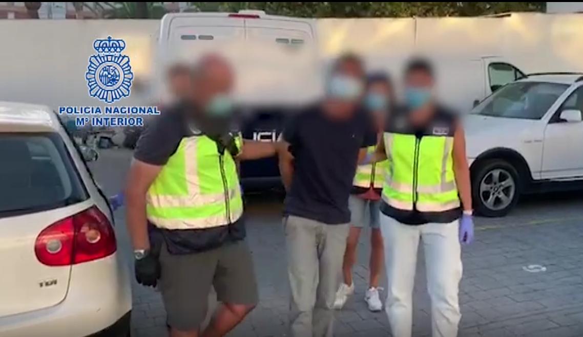 Policía Nacional detiene al fugitivo más buscado de Europa