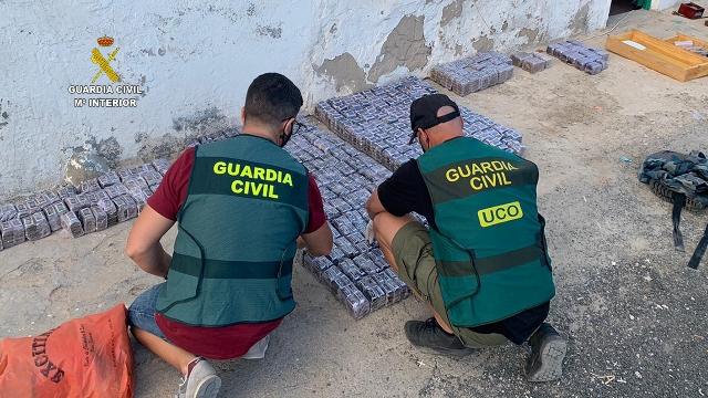 Operación JAMELA de la Guardia Civil en Canarias