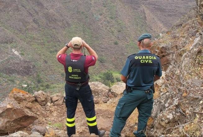 Agentes del Seprona de la Guardia Civil. Gran Canaria