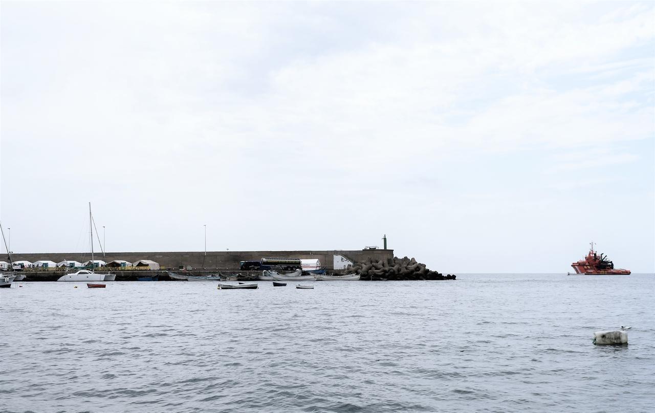 Pateras en el Muelle de Arguineguín, Mogán. Gran Canaria