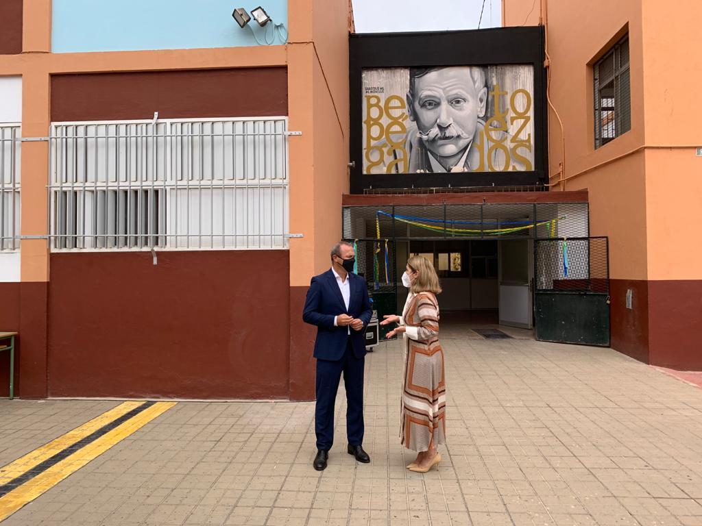 Augusto Hidalgo y Lourdes Armas. Las Palmas de Gran Canaria