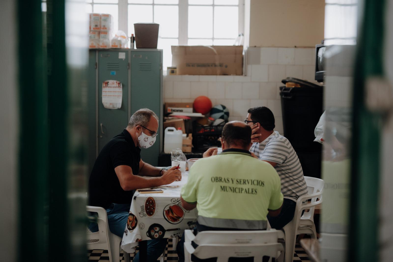 Santa Cruz de La Palma trabaja en las medidas de seguridad para el Día de los Difuntos. La Palma