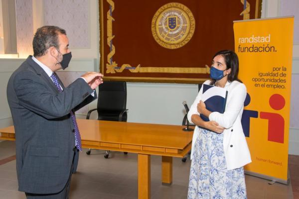 La ULPGC y Randstad colaboran para emplear a universitarios con discapacidad