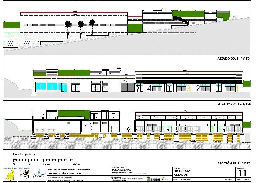 El IMD adjudica la construcción del nuevo campo de fútbol de El Lasso