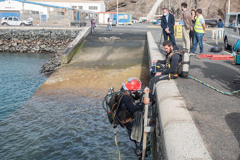 El Cabildo de Gran Canaria retirará una veintena de embarcaciones abandonadas en Taliarte