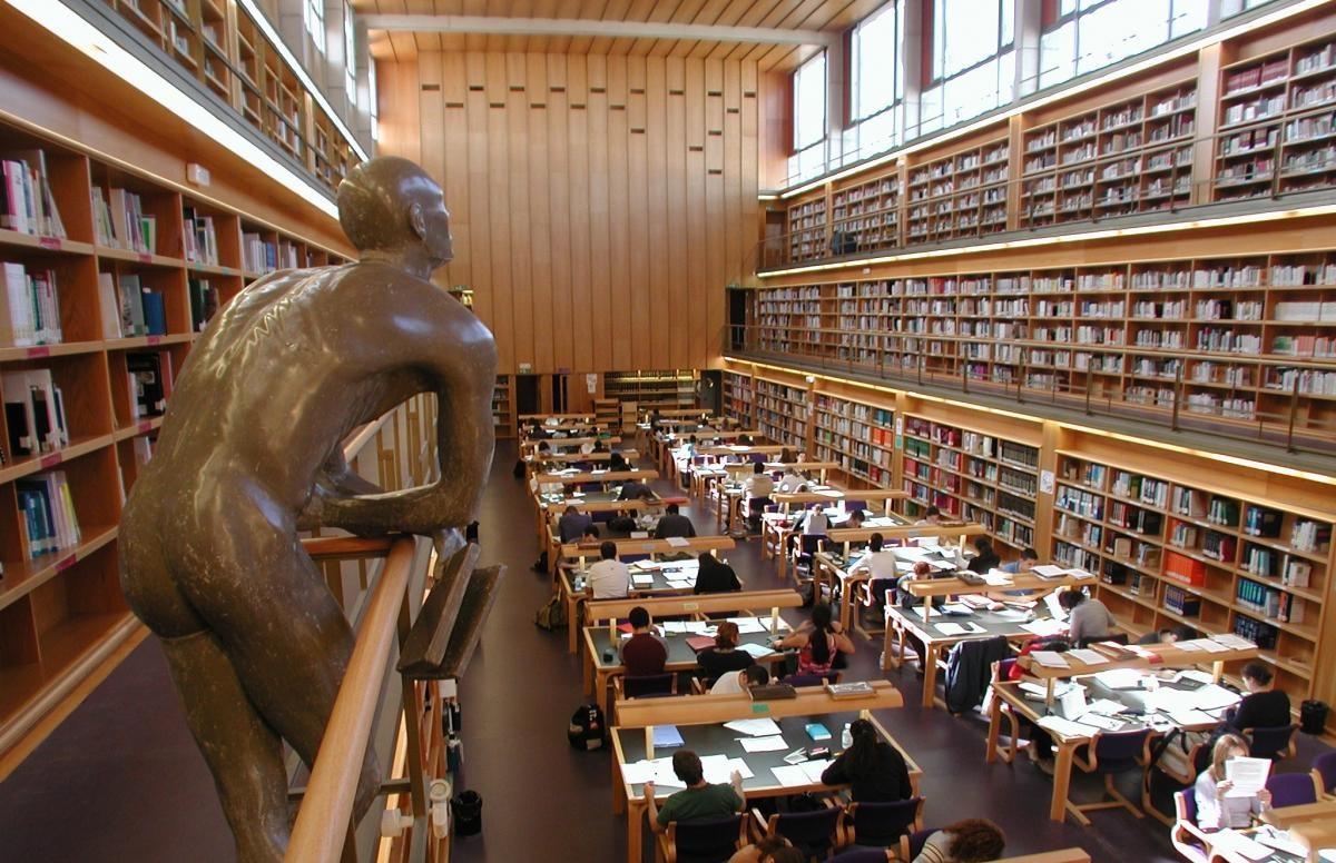 Biblioteca de la ULPGC. Las Palmas de Gran Canaria