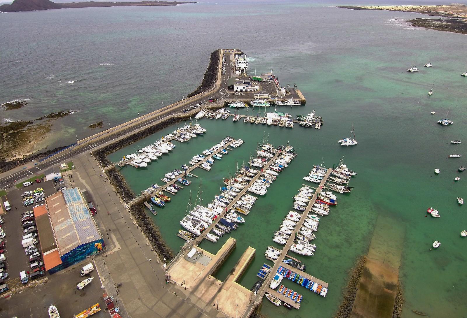 Puerto de Corralejo, La Oliva. Fuerteventura