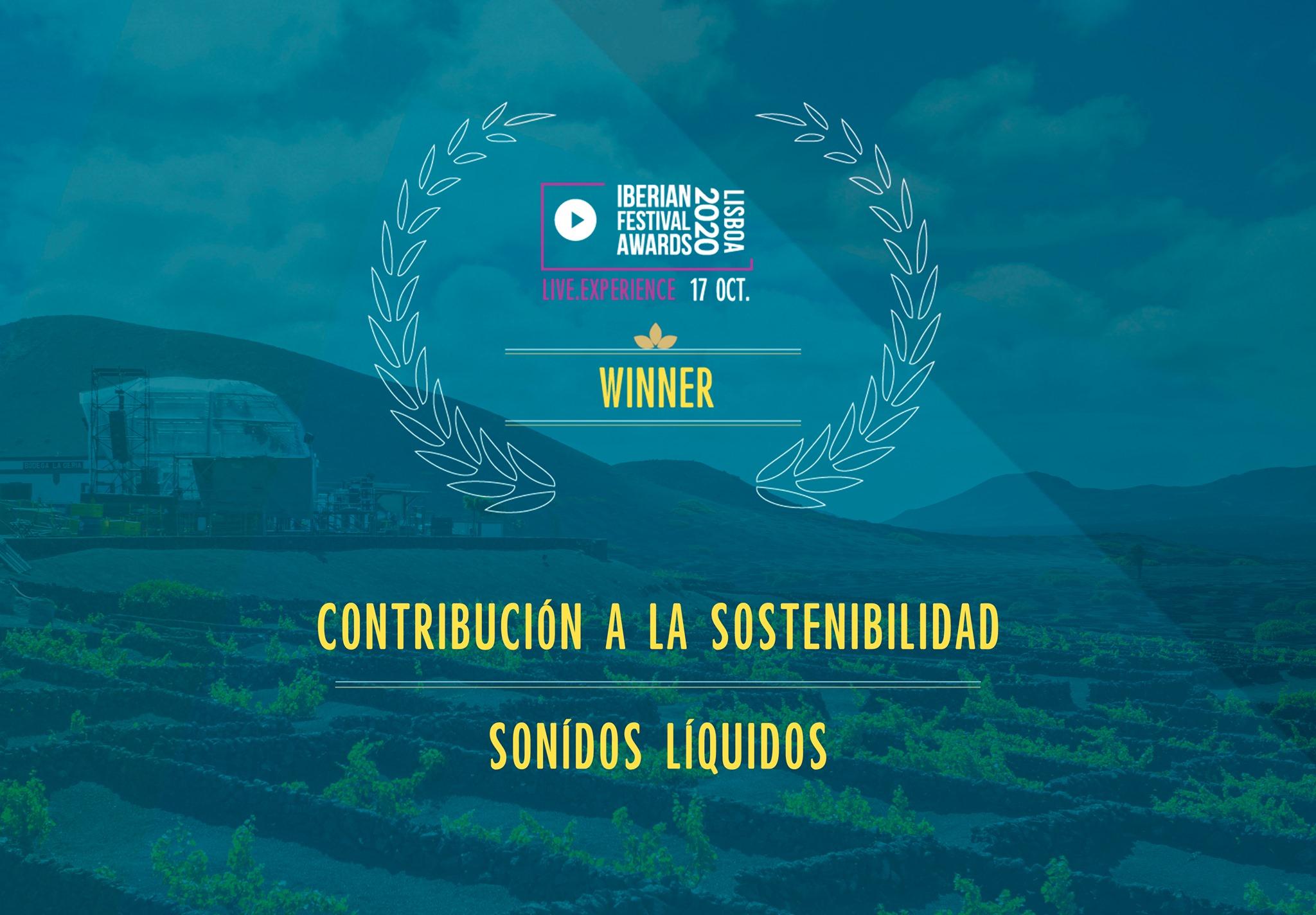 Sonidos Líquidos, mejor festival sostenible en los Iberian Festival Awards