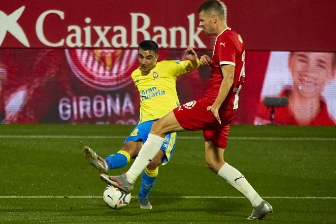 Girona F.C. 1 - U.D. Las Palmas 1